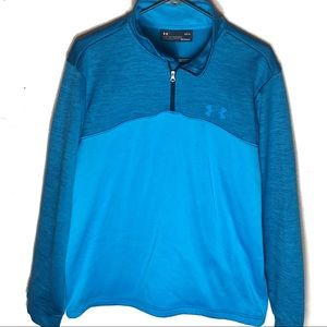 UNDER ARMOUR cold gear fleece lined pullover large